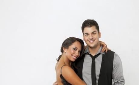 Rob Kardashian and Cheryl Burke
