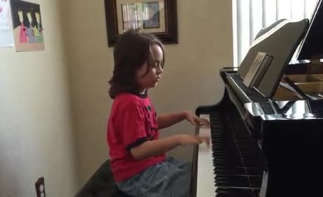 7-Year-Old Autistic Boy ROCKS Taylor Swift Songs on Piano: WATCH!