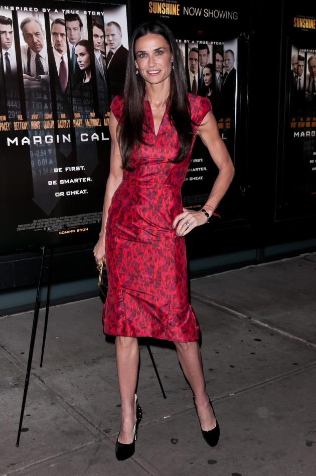 Demi Moore Movie Premiere Pic