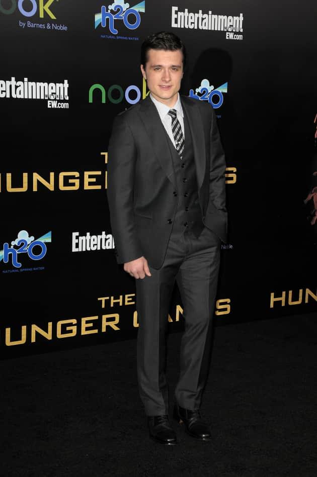 Josh Hutcherson at Hunger Games Premiere