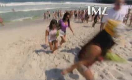 Classic Jersey Shore: Drunk Snooki Falls on Face, Tells Off Cops, Hauled Off to Jail