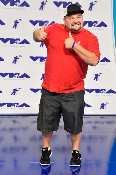 Gary Shirley at 2017 VMAs