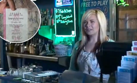 Bartender Wins $17,500 Via Tipped Lottery Ticket