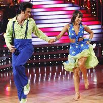 Gilles Marini and Cheryl Burke Pic