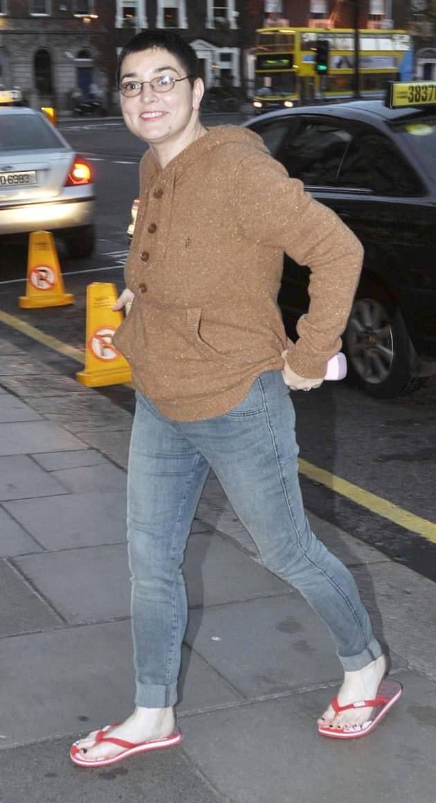 Sinead O'Connor Fashion