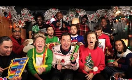 "One Direction, Jimmy Fallon & The Roots Perform ""Santa Claus is Coming to Town,"" Rock Awesome Christmas Sweaters"