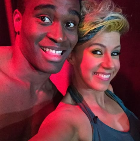 Jodie Sweetin Dancing With The Stars Injury I Didnt Want To Be