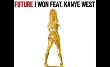 Kanye West Raps with Future, Wants to Dip Kim Kardashian's Rear End in Gold