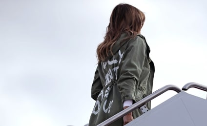 "Melania Trump Wears ""I Really Don't Care, Do U?"" Jacket ... WTF?!?!"