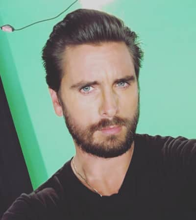 Scott Disick Stares at Us