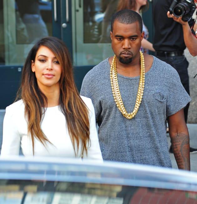 Kim Kardashian and Kanye West Together