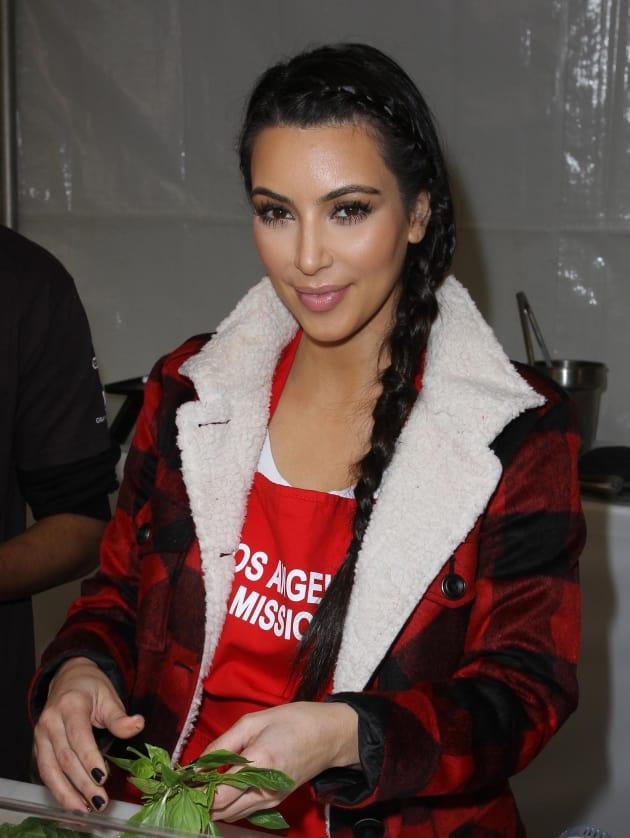 Kim Feeds the Homeless