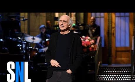 Larry David Does Holocaust Jokes in Saturday Night Live Monologue