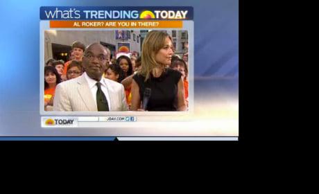 Al Roker Explains Today Show Behavior