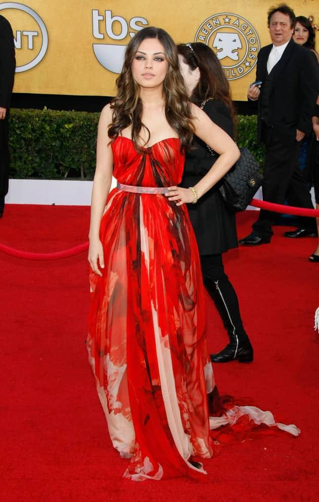Mila Kunis SAG awards