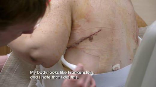 June Shannon Looks Like Frankenstein