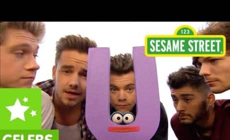 One Direction Sing On Sesame Street