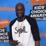 Lamar Odom at Kids Choice