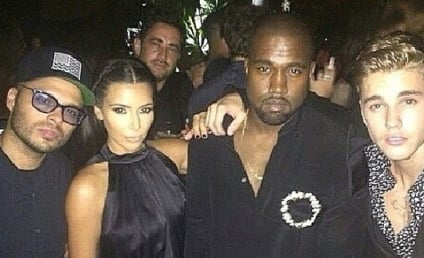 Justin Bieber and Kim Kardashian Party Together; Douchepocalypse is Nigh!