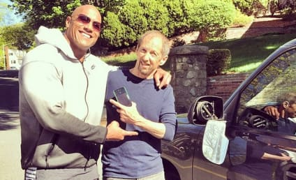 Dwayne Johnson Gets Into Car Crash with Happiest Victim Ever