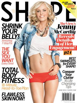 Jenny McCarthy Shape Cover