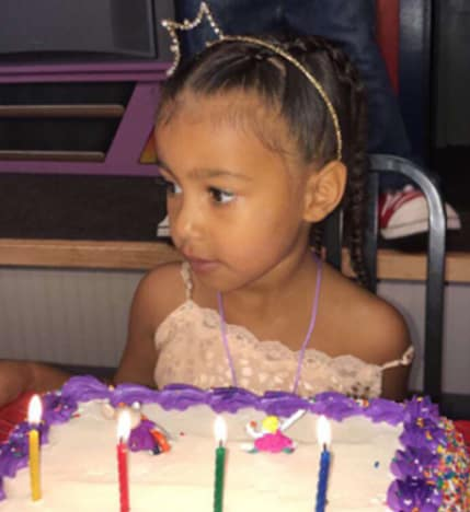 North West's 4th Birthday Cake!