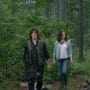Maggie and Daryl - The Walking Dead