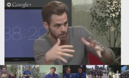 Star Trek Into Darkness and NASA Have a Google Hangout