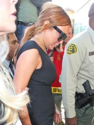 Lindsay Lohan: HOT in Court!