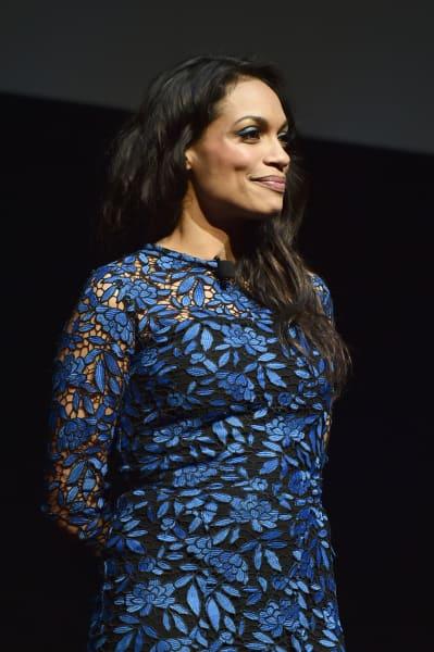 Rosario Dawson at CinemaCon