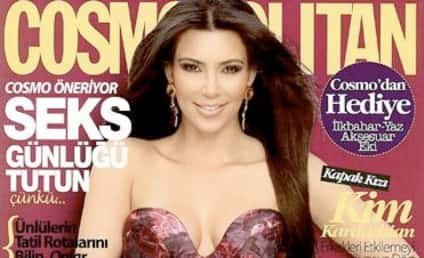 Kim Kardashian Irate Over Turkish Cosmo Cover