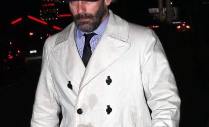 Jon Hamm: Sloppy Drunk at Golden Globes After Party