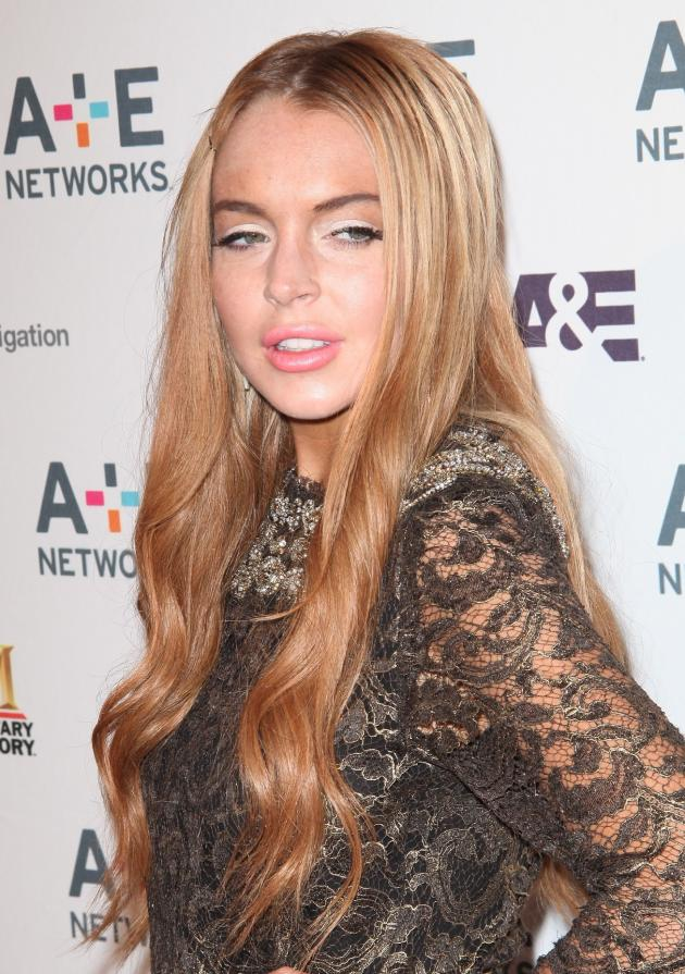 What is With Lindsay Lohan's Face
