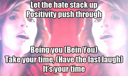 Positivity Push Through