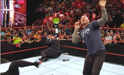 WWE RAW Recap: Down Goes Lesnar!