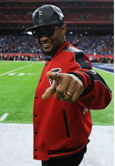Usher at the Super Bowl