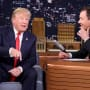 Jimmy fallon with donald trump