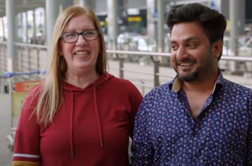 Jenny Slatten and Sumit on Season 2