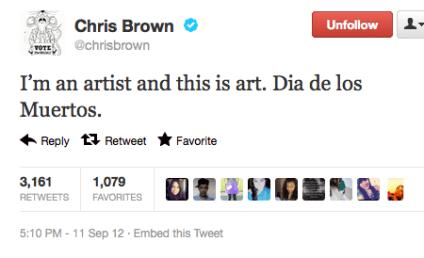 Chris Brown: Tattoo is Art, I'm an Artist!