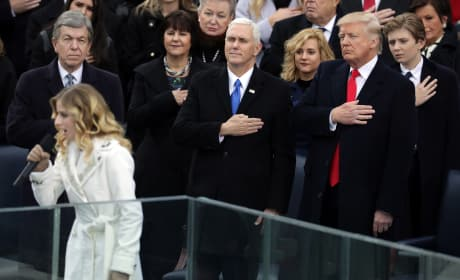 Jackie Evancho Sings National Anthem at Inauguration: How Did She Do?