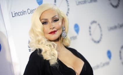 """Christina Aguilera: Drunk """"Mess"""" at Seth MacFarlane's Party"""