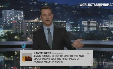 Is the Jimmy Kimmel-Kanye West feud real or fake?
