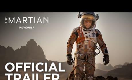 The Martian Trailer: Matt Damon Gets Spacey!