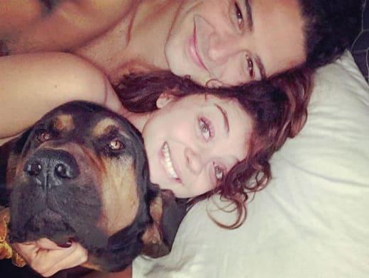Sarah Hyland and Boyfriend Wells Adams