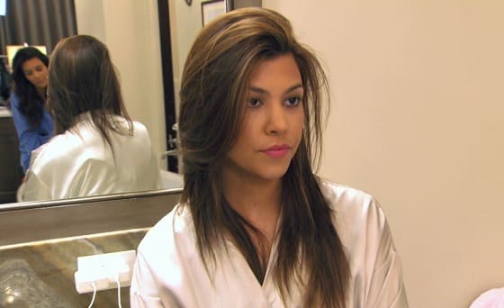 Kourtney Kardashian No Makeup Photo
