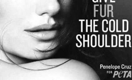 Penelope Cruz Sort of Strips Down For PETA