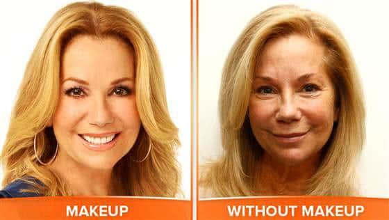 Kathie Lee Gifford: No Makeup!