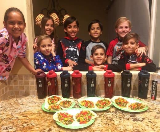 Natalie Suleman: My Octuplets Love Vegan Tacos