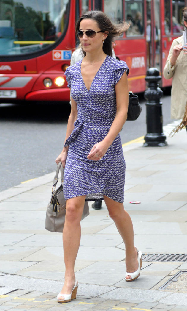 Pippa Middleton, Blue Dress