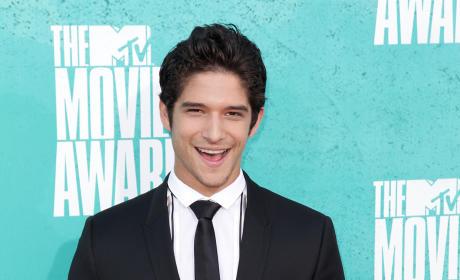 Tyler Posey at MTV Movie Awards